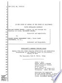 California  Court of Appeal  5th Appellate District   Records and Briefs Book PDF