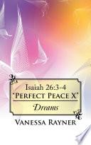 Isaiah 26 3 4 Perfect Peace X