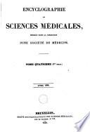 Encyclographie des sciences médicales