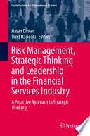 Risk Management  Strategic Thinking and Leadership in the Financial Services Industry