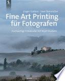 Fine Art Printing F R Fotografen