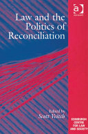 download ebook law and the politics of reconciliation pdf epub
