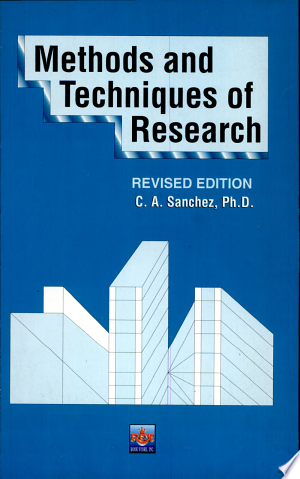 Methods and Techniques of Research Revised Ed. - ISBN:9789712323010