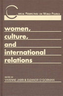 Women, Culture, and International Relations