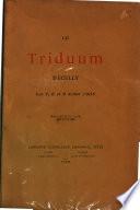 Le triduum d Ecully