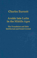 Arabic Into Latin in the Middle Ages