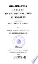 Grammatica Inglese ad uso degli Italiani