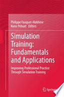 Simulation Training  Fundamentals and Applications Book PDF