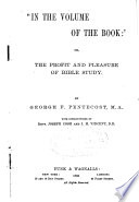 In the Volume of the Book