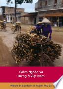 Giảm Nghèo và Rừng ở Việt Nam