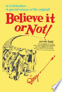 Ripley s Believe It or Not  Book PDF