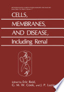 Cells Membranes And Disease Including Renal