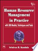 HUMAR RESOURCE MANAGEMENT IN PRACTICE
