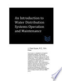 An Introduction To Water Distribution Systems Operation And Maintenance