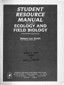 Student Resource Manual to Accompany Ecology and Field Biology, Fourth Edition