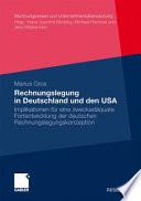 Rechnungslegung in Deutschland und den USA