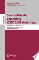 Service Oriented Computing Icsoc 2008 Workshops
