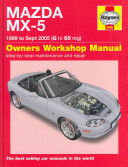 Mazda Mx 5 89 Sept 05 G To 55