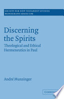 Discerning the Spirits
