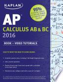 Kaplan AP Calculus AB   BC 2016