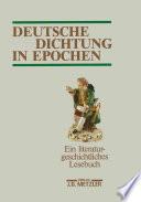 Deutsche Dichtung in Epochen