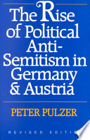 The Rise of Political Anti semitism in Germany   Austria