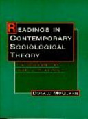 Readings in Contemporary Sociological Theory
