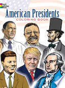 American Presidents Coloring Book