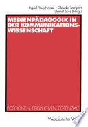 Medienpädagogik in der Kommunikationswissenschaft