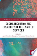 Innovative ICT enabled Services and Social Inclusion