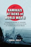 Kamikaze Attacks of World War II Book