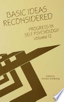 Progress in Self Psychology, V. 12