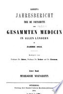 Jahresbericht   ber die fortschritte der gesammten medicin in allen l  ndern    1841  65