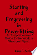 Starting and Progressing in Powerlifting
