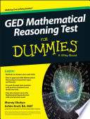 GED Mathematical Reasoning For Dummies
