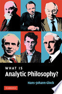 What is Analytic Philosophy