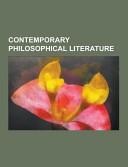 Contemporary Philosophical Literature