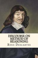 Discourse on Method of Reasoning
