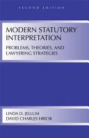 Modern Statutory Interpretation