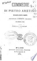 Commedie di Pietro Aretino