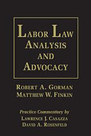 Labor Law Analysis and Advocacy