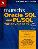 Murach s Oracle SQL and PL SQL for Developers