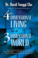 4th Dimensional Living In A 3 Dimensional World