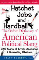 Hatchet Jobs and Hardball