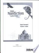 15295 TFK  NonFiction Readers Upper Emergent Teacher s Resource Guide