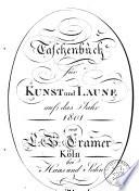 Taschenbuch fur Kunst und Laune auf das Jahr 1801