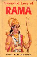 download ebook immortal love of rama pdf epub