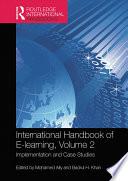 International Handbook of E-Learning Volume 2