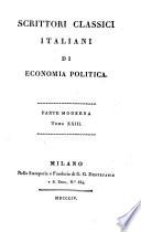 Lettere di Giammaria Ortes     in proposito del suo libro Della economia nazionale