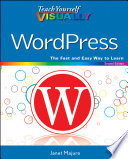 Teach Yourself VISUALLY WordPress Version Of Wordpress Wordpress Is One Of The